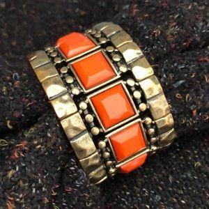 Tribal style bangle bracelet